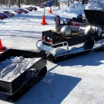 2015 Antique and Vintage Snowmobile Show at Crossroads Restaurant Marquette-021