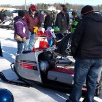 2015 Antique and Vintage Snowmobile Show at Crossroads Restaurant Marquette-023