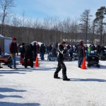 2015 Antique and Vintage Snowmobile Show at Crossroads Restaurant Marquette-025
