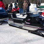 2015 Antique and Vintage Snowmobile Show at Crossroads Restaurant Marquette-027