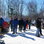 2015 Antique and Vintage Snowmobile Show at Crossroads Restaurant Marquette-028