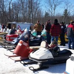 2015 Antique and Vintage Snowmobile Show at Crossroads Restaurant Marquette-029