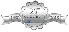 Great Lakes Radio - founded in 1990 - is celebrating 25 years in business in 2015