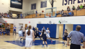 The Ishpeming Hematites defeated the Negaunee Miners 49-47 on Sunny.FM.