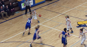 Negaunee Miners Girls VS Calumet Copper Kings on Sunny.FM. 02/10/15