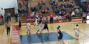 The Negaunee Miners Boys Basketball defeated the Westwood Patriots on Sunny.FM 02/11/15