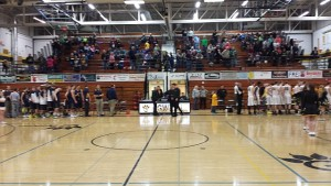 Negaunee Miners Boys Basketball VS Gwinn Modeltowners on Sunny.FM 02/05/15