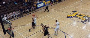The Negaunee Miners Boys Basketball team defeated the Gwinn Modeltowners 60-43 on Sunny.FM.