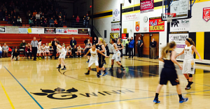 The Negaunee Miners vs Gwinn Modeltowners in District Championship Action on Sunny.FM 03/06/15