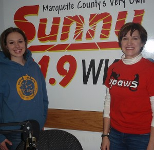 Steffani Baker and Kim Young of UPAWS.