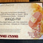 Merit Award - Weekend Broadcast