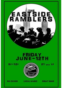 Eastside Ramblers Live Music in Marquette with Ore Dock Craft Beer