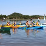 Teal Lake Paddle in Negaunee