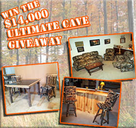 Enter to WIN the $14,000 Ultimate Cave