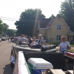 GLR Entering Parade Ishpeming Michigan July 4, 2015