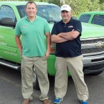 Neil Bonetti and Ryan Gay of Servpro of the Upper Peninsula.