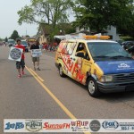 Photo 01 - 4th of July Parade 2015 with Great Lakes Radio Staff in Marquette, Michigan 49855