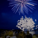 Massive Pyrotechnics over Teal Lake for Pioneer Days 2015 Negaunee, MI