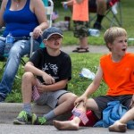 Negaunee Pioneer Days Parade viewers, 2015