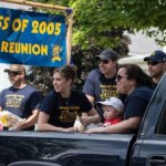 NHS Class of 2005 Reunion in Pioneer Days Parade, 2015