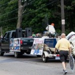 Great Lakes Radio in the Pioneer Days Parade 2015