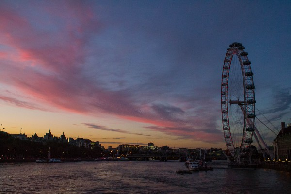 London Eye on a Summer's Night, Taken by Lauren Bareiss- SaddlebackPhotography