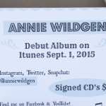 2015 Performance for Annie Wildgen at the Marquette County Fair 2015