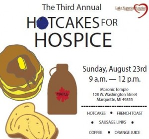 Hotcakes For Hospice This Sunday In Marquette