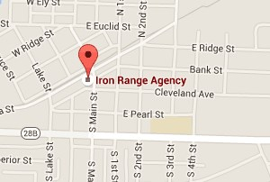 Iron Range Agency - call (906) 485-5544