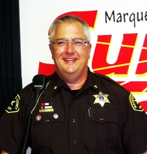 Marquette County Undersheriff Mike Klein