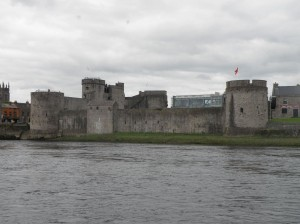 King John's Castle on the Banks of the River Shannon,