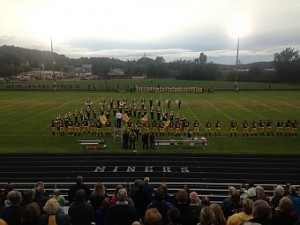 Negaunee Miners Football vs Iron Mountain Mountaineers on Sunny.FM 09/18/15