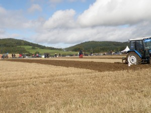 Ploughing in Ireland