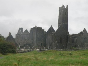 The remains of Quinn Abbey