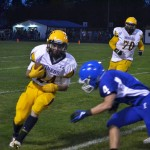 Negaunee Miners get a great pass off on the Hematites Field