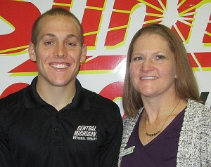 Jason Motess and Jeanette Tousignant with ACTIVE Physical Therapy
