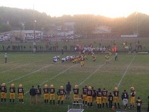 Negaunee Miners Football VS Norway-Vulcan Knights on Sunny.FM 10/02/15.
