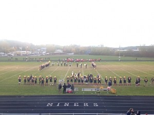 Negaunee Miners Football VS Marquette Redmen on Sunny.FM 10-16-15