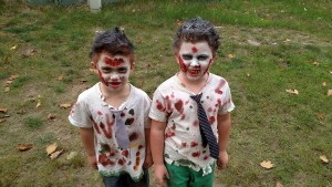 Zombie Children Silver Creek Run Teachign Family Homes Walking Dead Harvey Non-Profit