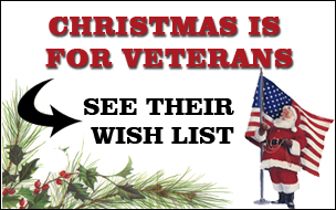 Make this Christmas Special for a Vet!