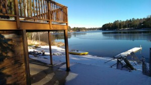 Shag Lake Executive Home For Sale in Gwinn, Michigan