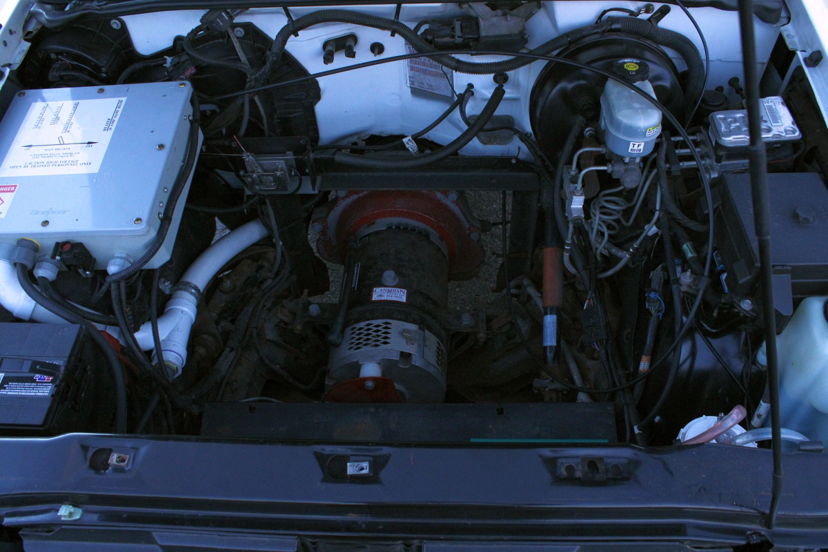 2002 Chevy S10 Now Converted To A Plug In Electric Car Driving Around Marquette Mi