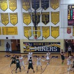 Negaunee Miners Boys Basketball vs Manistique Emeralds 12/29/15 on Sunny.FM.