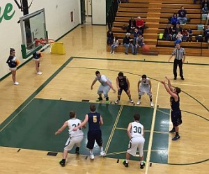 The Negaunee Miners defeated the Manistique Emeralds 71-27 on Sunny.FM.