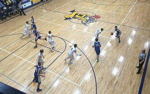 The Negaunee Miners Boys Basketball VS Ishpeming Hematites on Sunny.FM 01/13/16
