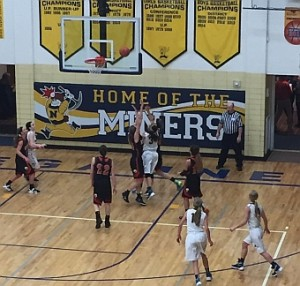 The Negaunee Miners won 78-39 over the Escanaba Eskimos on Sunny.FM 01/27/16
