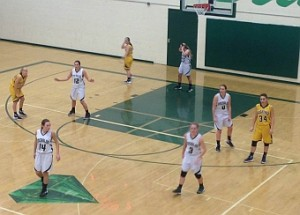 The Negaunee Miner Girls Basketball VS Manistique Emeralds on Sunny.FM 01/08/16