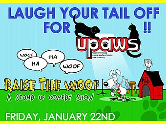 Steffani Baker Interview on 8th Day - UPaws Comedy Fundraiser January 22, 2016