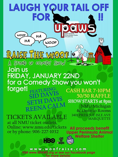 Steffani Baker Interview on 8th Day - UPaws Comedy Fundraiser January 22nd