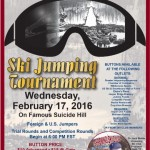 129TH Annual Suicide Hill Ski Jump Feb 17, 2016